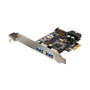 OWL-PCEXU3E2I2S [USB3.0増設ボード ロープロファイルブラケット付 外部2ポート 内部19ピンコネクタ 1ポート]