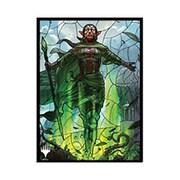 マジック:ザ・ギャザリング プレイヤーズカードスリーブ 灯争大戦 ステンドグラス 世界を揺るがす者、ニッサ MTGS-115 [トレーディングカード用品]