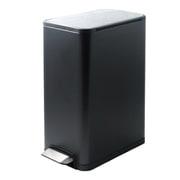 JH-8866 [JAVA YUEYA ペダルビン ステンレス ゴミ箱 30L BK]