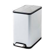 JH-8866 [JAVA YUEYA ペダルビン ステンレス ゴミ箱 20L WH]