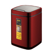 JH-8829DKF [JAVA Rome センサービン ステンレス ゴミ箱 9L RE]
