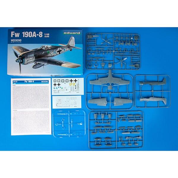 EDU84122 Fw190A-8 ウィークエンドエディション [1/48スケール プラモデル]