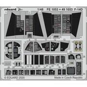 EDUFE1053 F-14D ズームエッチングパーツ AMK用 [1/48スケール エッチングパーツ]