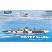 SN72004 フィンランド・CV-707 ヴェシッコ小型潜水艦 [1/72スケール プラモデル]