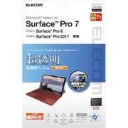 TB-MSP7FLFIGHD [Surface Pro7/Pro6/Surface Pro 2017年モデル/保護フィルム/超透明/ファインティアラ(耐擦傷)/高光沢]