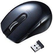 MA-WBL170BK [ワイヤレスブルーLEDマウス(5ボタン・左右対称)]