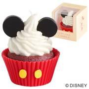 ディズニー カップケーキキャンドル ミッキー
