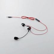 HS-GS30ELBK [スマホ用ヘッドセット/マイクアーム搭載/インナー型/Lightnign変換アダプタ搭載/ブラック]