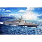 CH7147 アメリカ海軍 沿海域戦闘艦 ガブリエル・ギフォーズ LCS-10 対艦巡航ミサイルNSM付き [1/700スケール プラモデル]