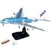NH40079 1/400 A380 JA381A FLYING HONU ANAブルー WiFiレドーム GSEアクセサリー2点付 [ダイキャスト飛行機]