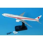JG40103 1/400  777-300ER 80-1112 WiFiレドーム 青バス/ステップカー付 [ダイキャスト飛行機]