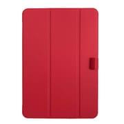 TBC-IP1900R [iPad 10.2(2019)用 軽量ハードケースカバー レッド]