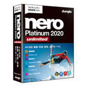 Nero Platinum 2020 Unlimited [パソコンソフト]