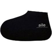 シリコン靴カバー Lサイズ 26.0~28.0cm用 ブラック