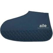 シリコン靴カバー Lサイズ 26.0~28.0cm用 ネイビー