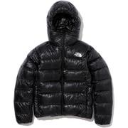 Alpine Nuptse Hoodie ND91901 (K)ブラック WMサイズ [アウトドア ダウンウェア レディース]