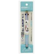 S4645537 Dr.Grip 4+1 ボールペン/シャープペン ホワイト ムーミン [キャラクターグッズ]