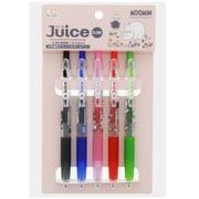 S4478584 Juice(ジュース) ゲルインキボールペン 0.38mm 5色セット ムーミン [キャラクターグッズ]