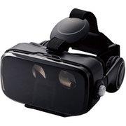 VRG-DEH01BK [VRゴーグル/ヘッドホン一体型/DMM1000円相当ポイント付与シリアル付/ブラック]