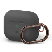 APPCSSCOH GY [ORIGINAL HANG CASE カラビナ付き for AirPods Pro/Dark Gray]
