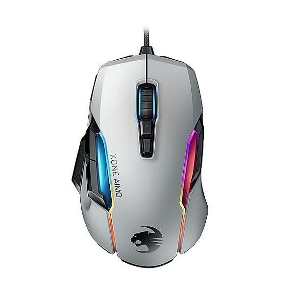 ROC-11-820-WE [KONE AIMO Remastered ホワイト ゲーミングマウス]