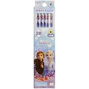 S5013569 鉛筆 2B ダースDX 12本入 アナと雪の女王2 [キャラクターグッズ]