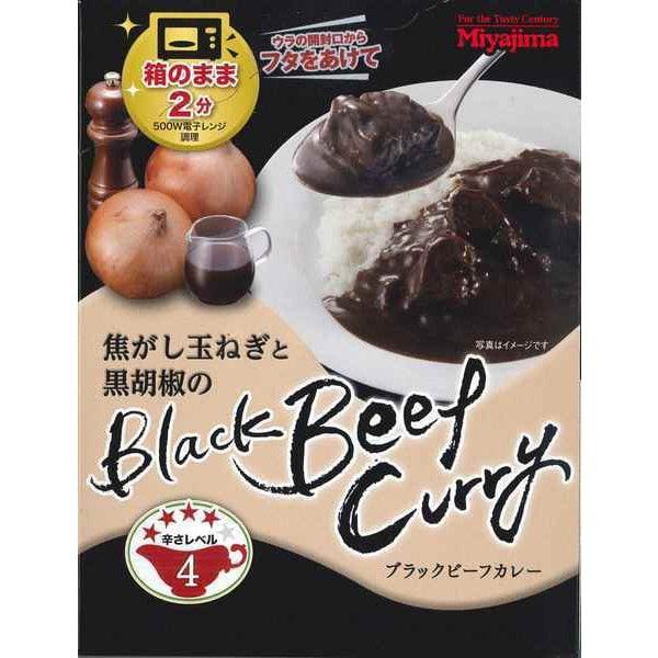 焦がし玉ねぎと黒胡椒のブラックビーフカレー 170g