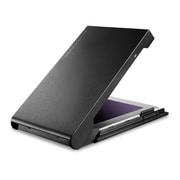 LGB-PBSUCS [HDD SSDケース 2.5インチ USB3.2 Gen2 Type-C HDDコピーソフト付 ブラック]