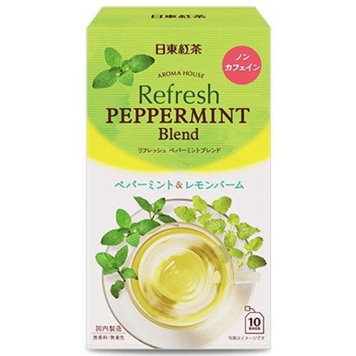 日東紅茶 アロマハウス リフレッシュ ペパーミント 10p