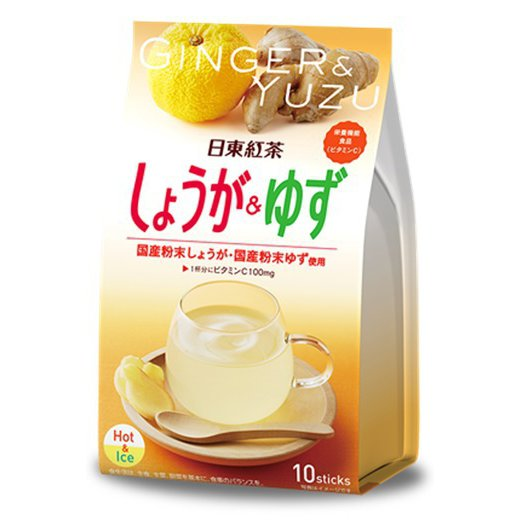 日東紅茶 しょうが&ゆず 10p