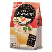 日東紅茶 厳選果汁のとろける白桃 10p
