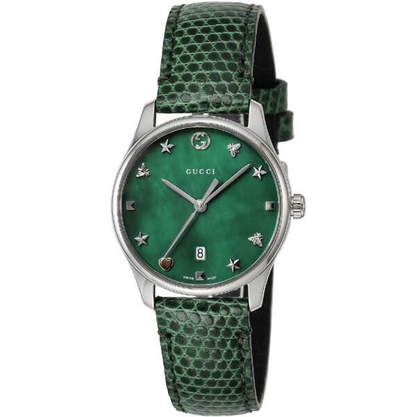 YA126585 [腕時計 G-タイムレス グリーンパール 並行輸入品]