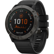 010-02157-53 [スマートウォッチ fenix 6X Pro Dual Power Ti Black DLC]