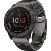 010-02157-5D [スマートウォッチ fenix 6X Pro Dual Power Ti Black DLC Titanium band]