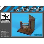 HAUD35106 東ヨーロッパのジオラマベース [1/35スケール レジンキット]