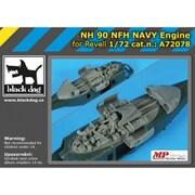 HAUA72078 NH90 NFH 海軍型用エンジン レベル用 [1/72スケール ディティールアップパーツ]