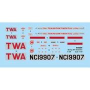 014T339 米・ボーイング 307 ストラトライナー 与圧旅客機・トランスワールド航空 [1/144スケール プラモデル]
