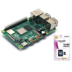 RASPi4-SDST [シングルボードコンピュータ ラズベリーパイ4 モデルB / Raspbian インストール済SD付]