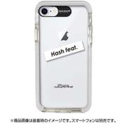 HF-CTI7S-03WT [iPhone 8 / iPhone 7 ウルトラプロテクトケース ロゴ ホワイト]