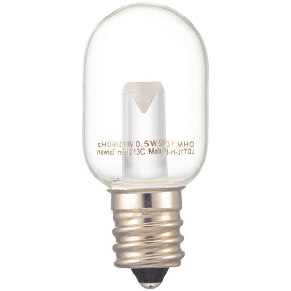 LDT1N-H-E12 13C [LEDナツメ球 E12 クリア 昼白色]