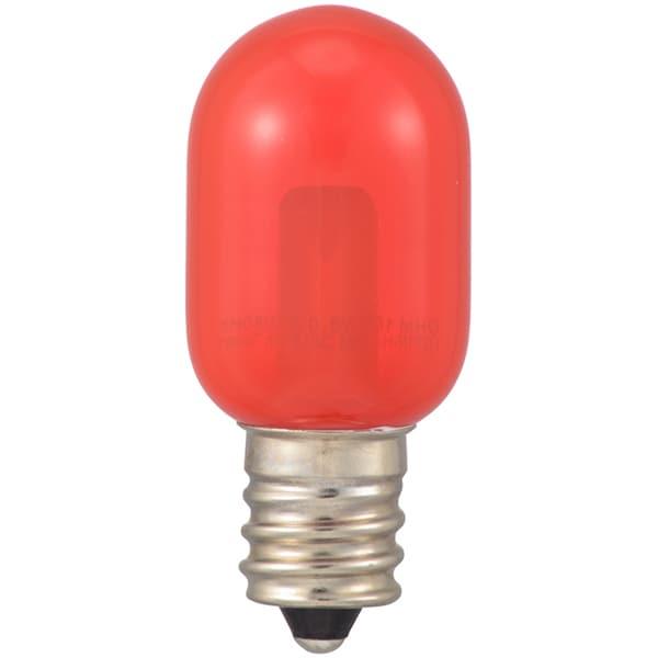 LDT1R-H-E12 13C [LEDナツメ球 E12 クリア 赤]