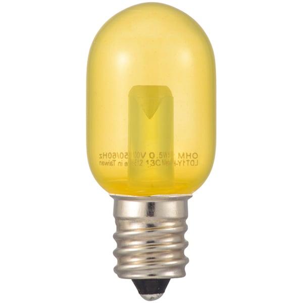LDT1Y-H-E12 13C [LEDナツメ球 E12 クリア 黄]