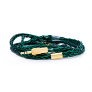 BEA-7698 [Beat Audio Emerald MKII 8-Wire - MMCX - 4.4mm イヤホンケーブル 4導体仕様]