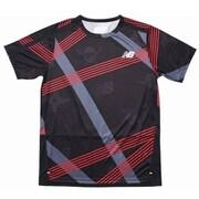 NB HANZO グラフィックS/S Tシャツ AMT01205 BK XLサイズ [ランニングシャツ メンズ]