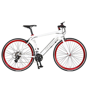 トランスモバイリー E-MAGIC700 ホワイト [スポーツ電動アシスト自転車]
