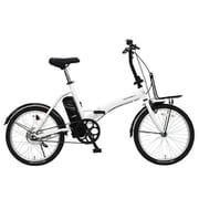 トランスモバイリー E-BASIC ホワイト [電動アシスト自転車]