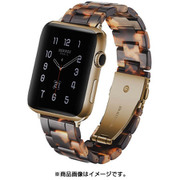 AW-TORT40-BR [Apple Watch 40mm 用 べっ甲ベルト ブラウン]