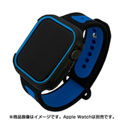 JGWSP2W5L-BL [Apple Watch 4 / Apple Watch 5 44mm 用 バンド ツートーン・スポーツ BL]