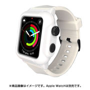 YHDIPCW5L-WH [Apple Watch 4/5/6/SE 44mm 用 防塵防水タフネスケース ホワイト]