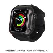 YHDIPCW5S-BK [Apple Watch 4/5/6/SE 40mm 用 防塵防水タフネスケース ブラック]